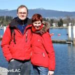 Fotografování pro ILAC u Canada Place ve Vancouveru
