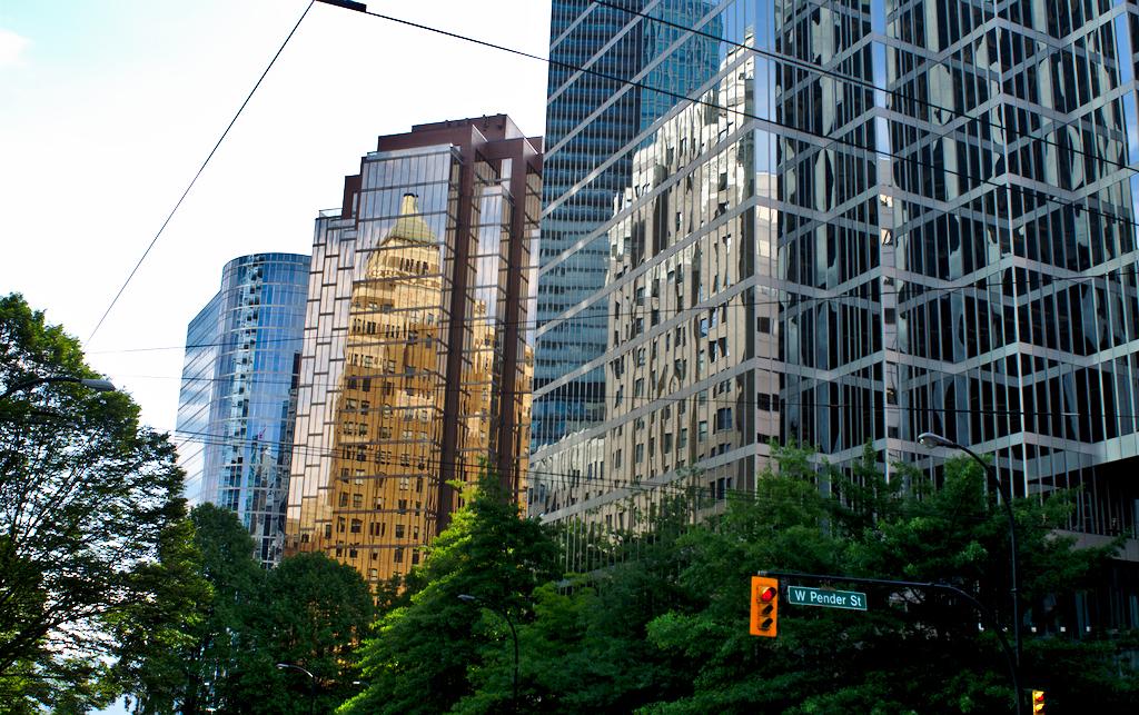 Vancouver - centrum města