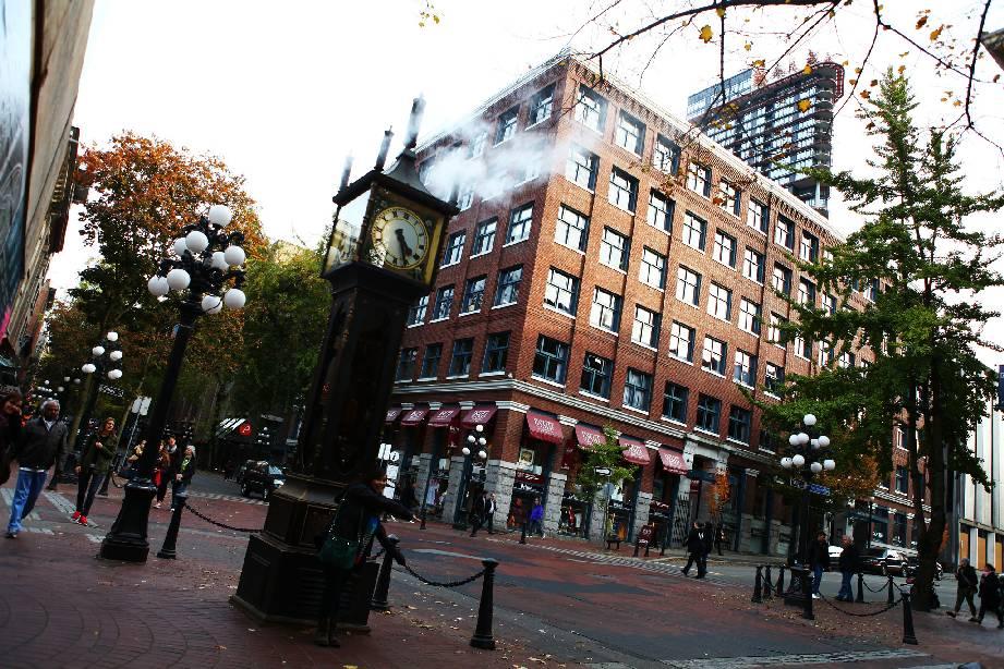 Steam clock - pamětihodnost Vancouveru
