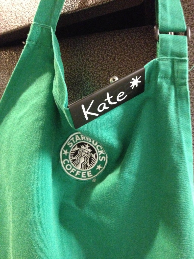 Starbucks montérky :)