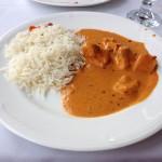 Katky kuřecí Butter Chicken s indickou rýží
