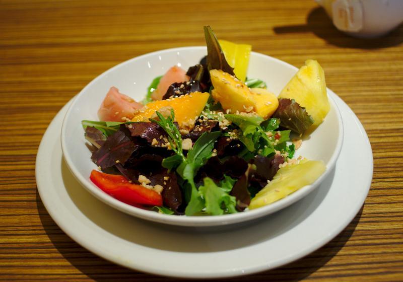 Green Leaf Asian Salad - mlaskačka.