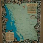Mapa území původních národů