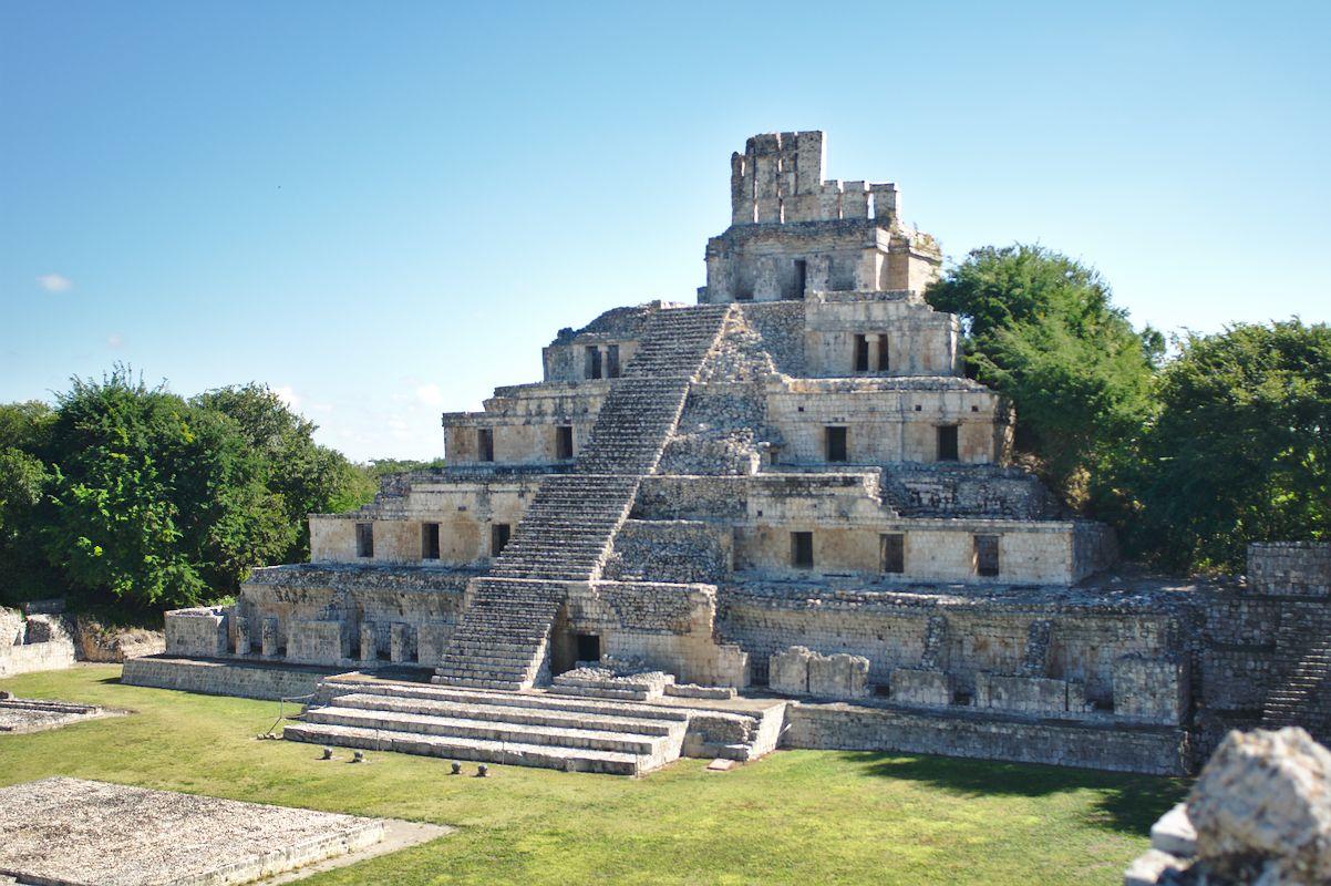 Hlavní chrám v Edzná