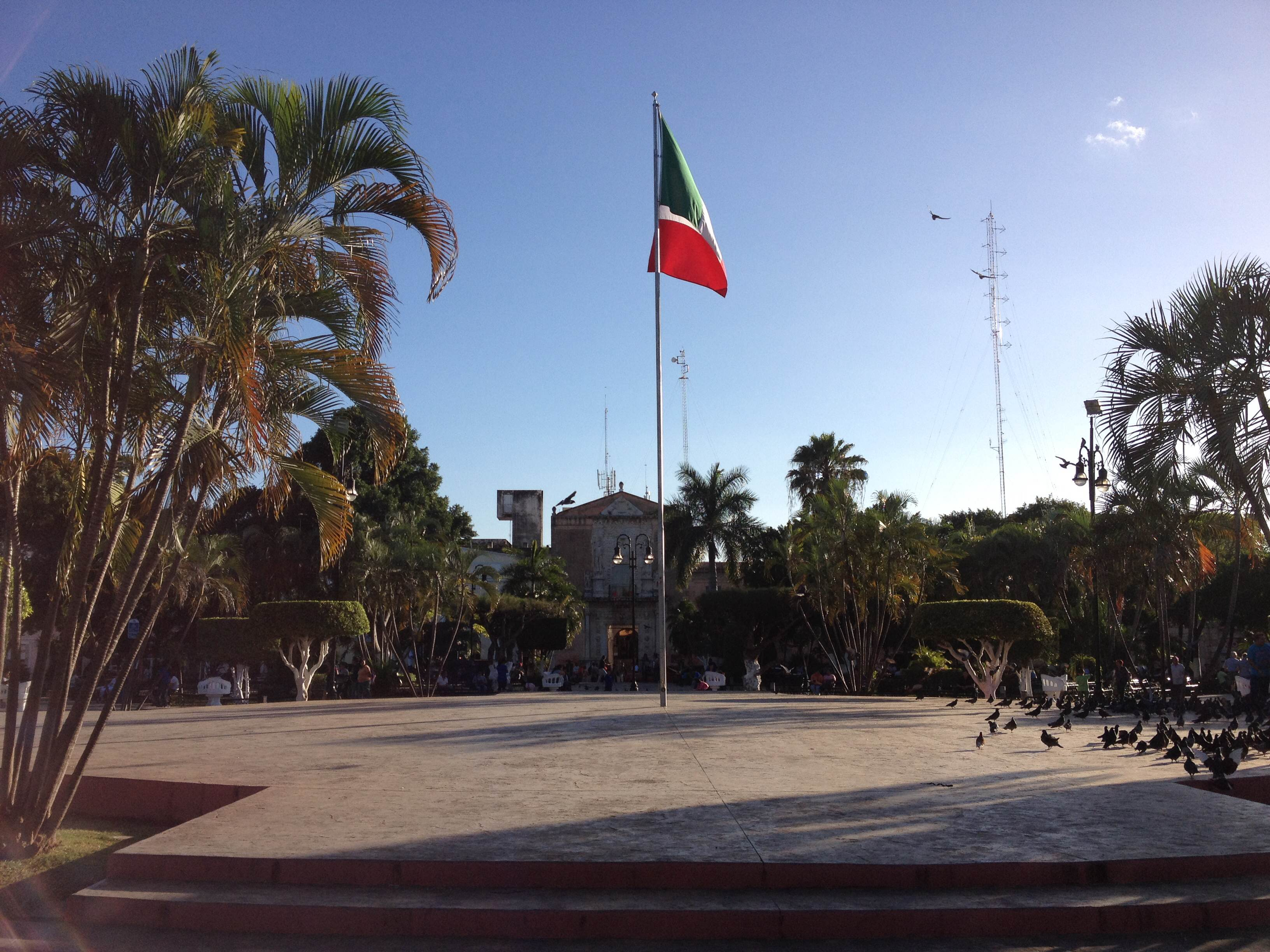 Mérida - hlavní náměstí