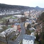 Pohled na Bad Schandau
