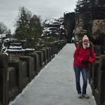 Katka na mostě Bastei