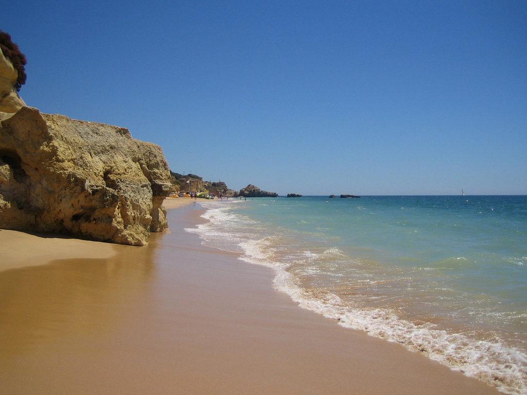 Portugalsko - Algarve - pláž - Albufeira