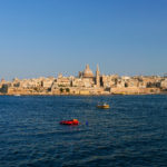 Pohled na Vallettu