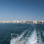 Pohled z ferry na Sliema