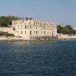 Stavba na poloostrově Manoel