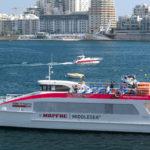 Ferry mezi Vallettou a Sliemou