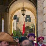 Pohled do Velmistrovského paláce ve Vallettě