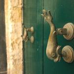 Klepadlo dveří ve Vallettě
