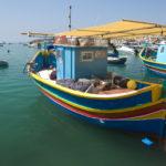 Luzz lodička Marsaxlokk