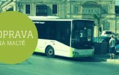 doprava malta autobus
