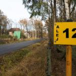Číslo aleje zahrádkářské oblasti