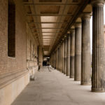 Řada sloupů Neues Museum