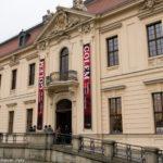 Vstup do židovského muzea