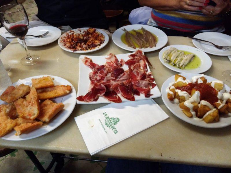 Výborné tapas v rodinné restauraci La Bodequeta
