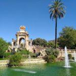 Cascada Monumenal v parku Parc de la Ciutadella