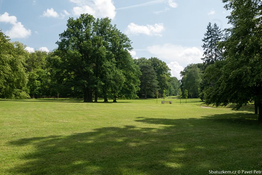 Pohled do parku